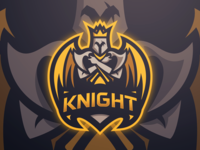 Knight Mascot Logo + SpeedArt Video