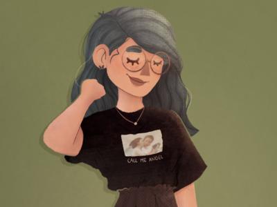 Modern Girl Character