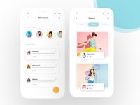 Message interface