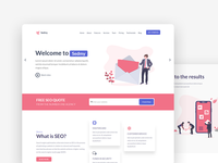 Lading page template