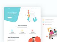 Modular Creative HTML Template portfolio ui design creative design