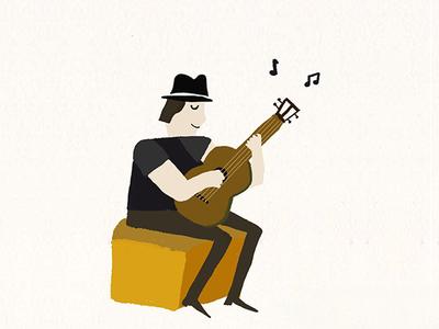 Start playing the ukulele