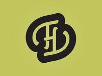 T H Monogram Icon