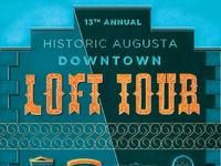 Loft tour 2017 poster