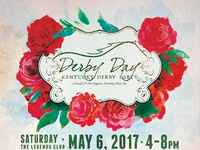 Derby day 2017 poster