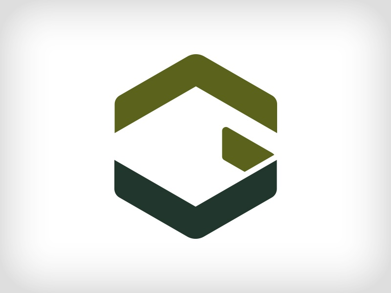 G R A H L identity geometric g monogram type architecture construction abstract icon logo