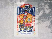 Nashville poster dribbble