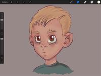 WIP - Rough Sketch - Color Add