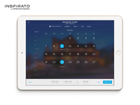 iPad App - Calendar View