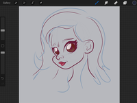 WIP - Rough Sketch - Lady