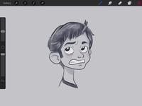 WIP Rough Sketch - Emotion Study