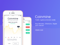 Coinmine - Trade cryptocurrency easily