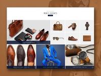 Hautelook website prototype