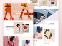 Leather Bag Shop Homepage