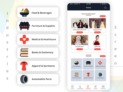 Online Marketplace - Mobile app