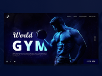 Fitness Web Page