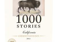 1000 Stories Wine Label Concept