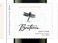 Bonterra-Natural Selection Wine Label