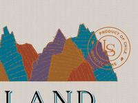 Land & Sea Label Design
