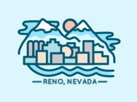 Reno, Nevada Skyline