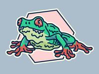 Slimy Frog