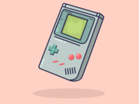 Old School Gameboy