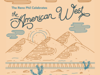 The American West Concert Poster