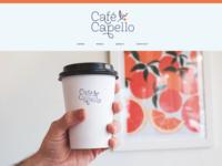 Cafe Capello Web & Photography