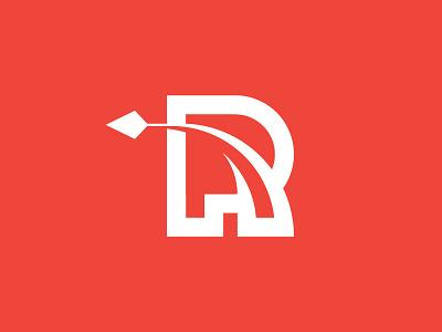 Reach single-letter r reach logo simple minimal