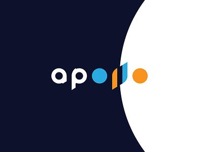 apollo 11 redesign identity brand 1969 50th anniversary earth-rise moon word minimal logo simple mission apollo apollo 11