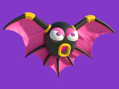 Mega Man Batton bat octane mega man cinema character capcom c4d anime animation 4d 3d