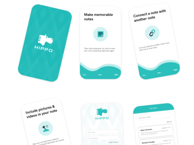 Hippo | A note taking App