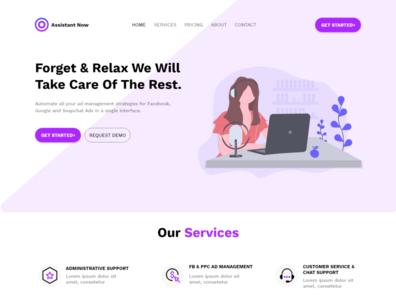 Assistant Now | A virtual assistant website