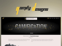 New portfolio site for GamifyDesigns