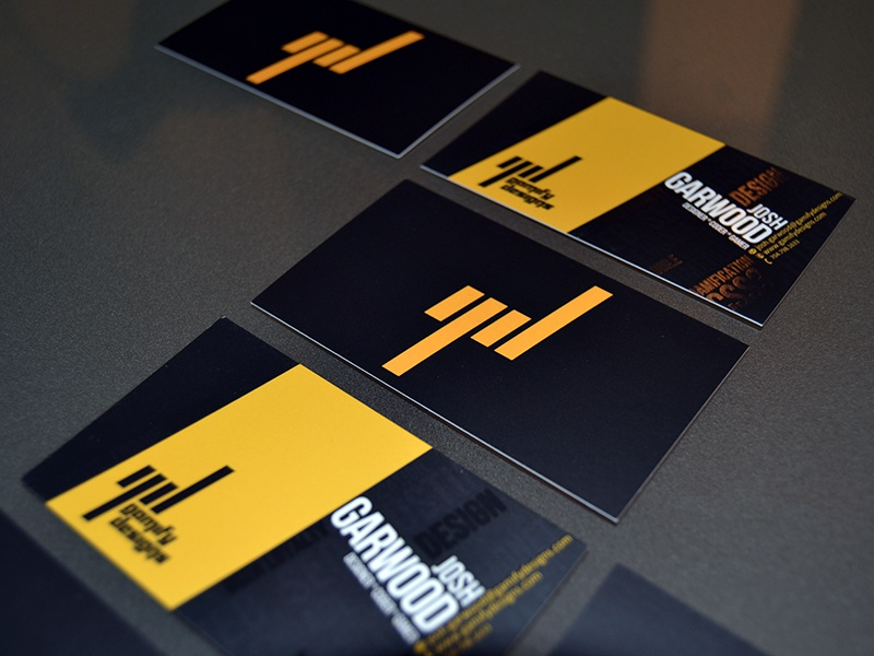Gamify Designs business card branding identity logo business card