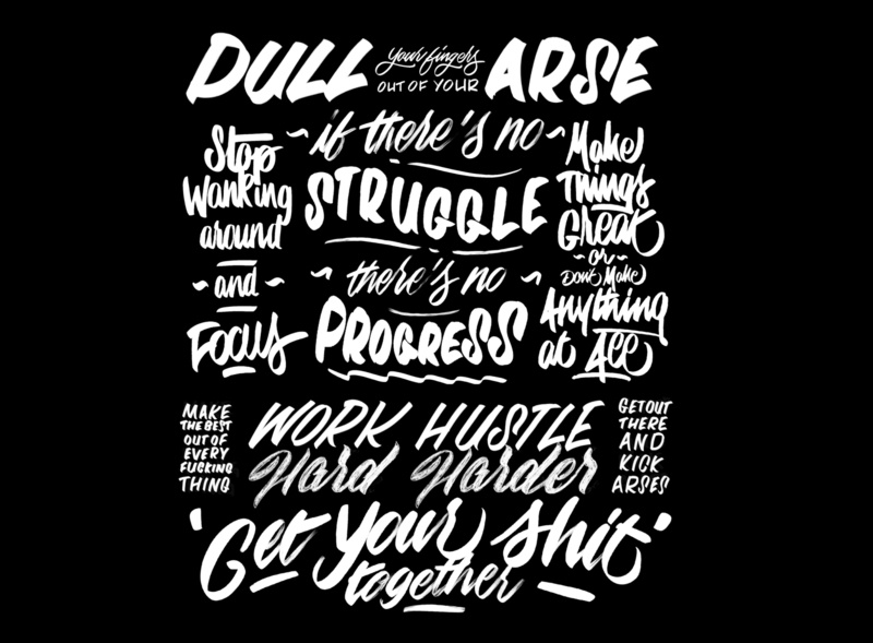 My kind of motivational quotes. ❤️ hand-lettering words lettering artist drawings pencil ink design graphic illustration typography