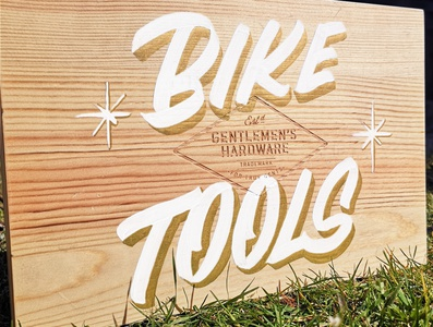 Bike Tools paint casual casual lettering customlettering textures illustration texture handmadefont handlettering font type typography lettering