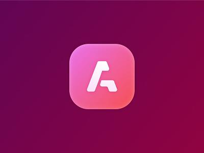 A icon figma gradient icon graphic design ui