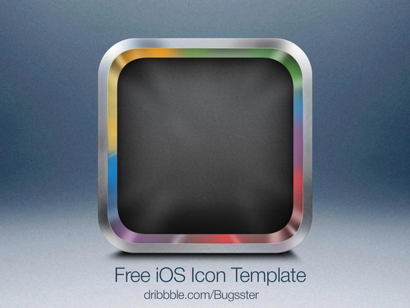 Free iOS Icon Template 2 (PSD) by Taras Shypka - Dribbble