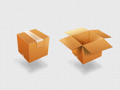 Boxes Icons for Mylikesbox