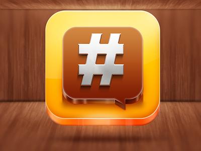 YOLO.com iOS Icon yolo ios icon realistic mobile app amazing awsome wood reflection glass steel