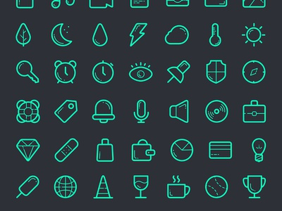 Free Icon Set free icon set pack psd ai vector freebie font