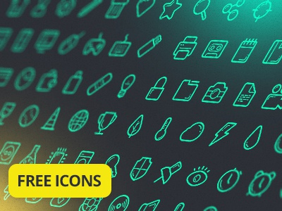 Free Icon Set free icon set pack psd ai vector freebie font