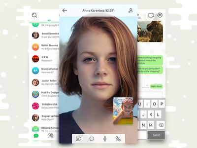 ICQ iOS App Redesign Concept