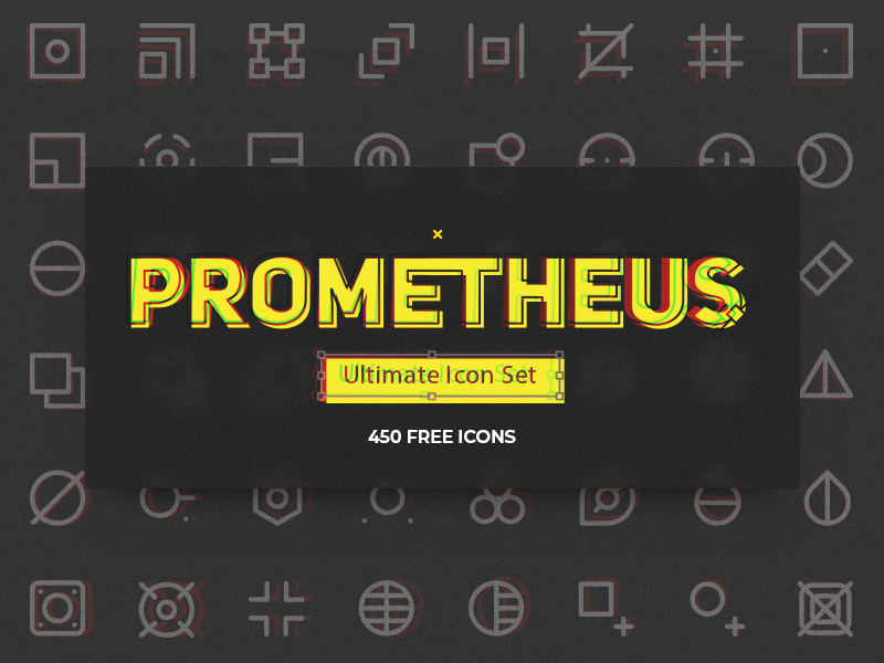 Prometheus Free Icon Set freebie vector ai sketch pack set icon free
