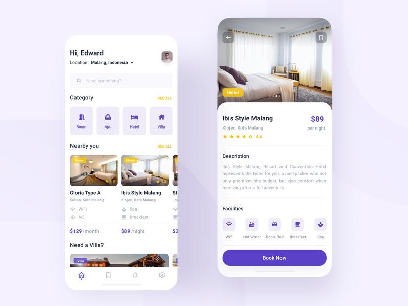 Rent a properties | Mobile app
