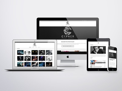 Cypher Talent Website