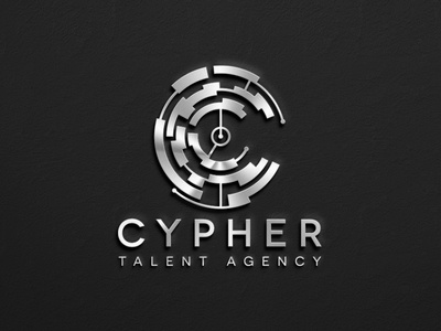 Cypher Talent Logo & Branding