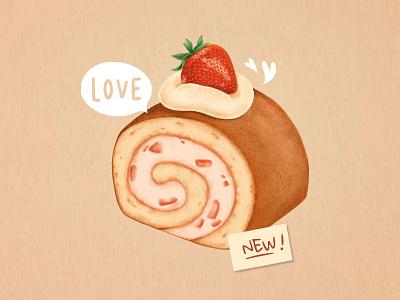 Sweet Dessert Heaven art colorful psd sticker food cute sprinkles suagr cake pastry delicious sweet donut illustrator design dessert graphic design illustration vector freebie