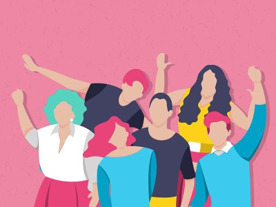 People Vector Art | Diverse Individuals Collection teenager wallpaper background photoshop equality community unique inclusion diversity characters woman man person people illustrator psd illustration graphic design design vector